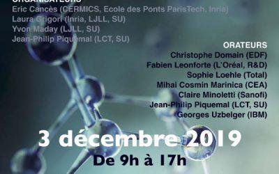 """Conference Horizon Maths 2019 """"Mathématiques & Chimie"""""""