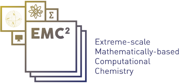 Emc2 - Extreme-scale Mathematically-based Computational Chemistry