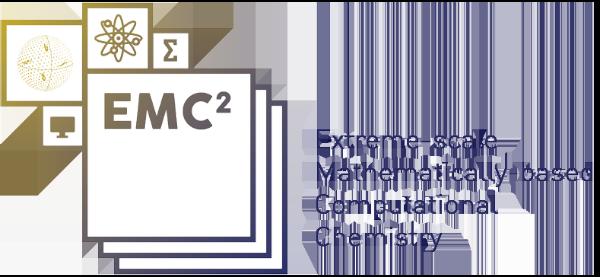Emc2 - Extreme-scale Mathematically-based Computational Chemistry